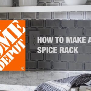 How to Make a Spice Rack | Simple Wood Projects | The Home Depot