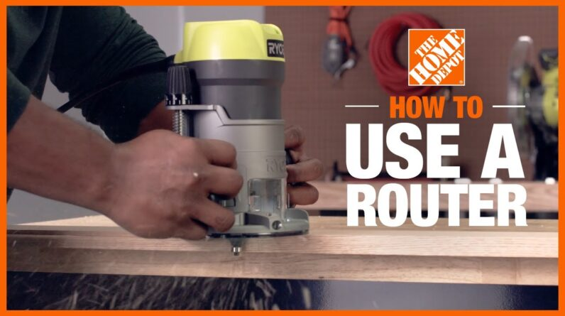 How to Use a Router | Handheld Power Tools | The Home Depot
