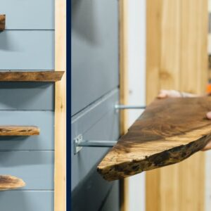 Live Edge Floating Shelves | How To Build