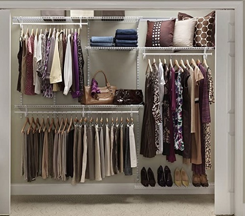 Learn how to install a closet organizer.