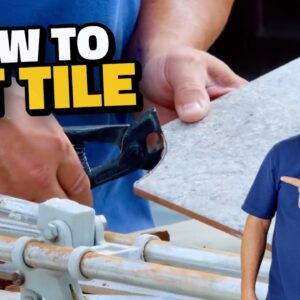 How to Cut Tile for Beginners