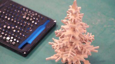 Reusable Tabletop Christmas Tree 🎄