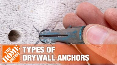 Types of Drywall Anchors